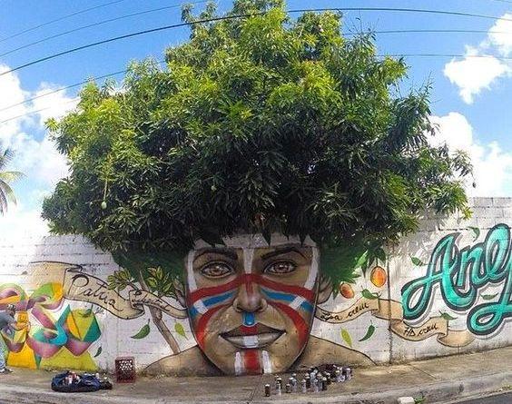 «Afro Taino par Gabriel Abreu San Cristobal République Dominicaine.jpg