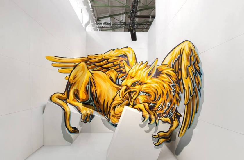 Large scale Anamorphic Art, with an urban twist: the amazing Street